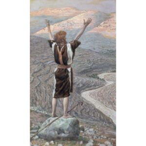 The Voice in the Desert, illustration for 'The Life of Christ', c.1886-96 Reproducere, James Jacques Joseph Tissot