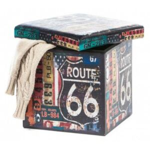 Taburete Design 38 x 38 Route 66