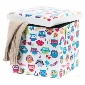 Taburete Design 38 x 38 Owls New