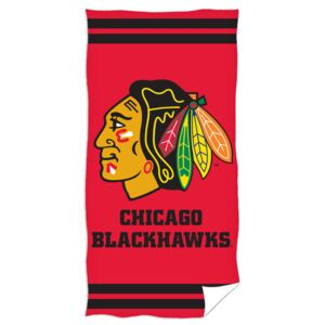 Prosop de baie CHICAGO Blackhawks 70 x 140 cm