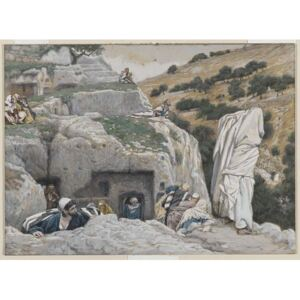 The Apostles' Hiding Place, illustration from 'The Life of Our Lord Jesus Christ', 1886-94 Reproducere, James Jacques Joseph Tissot