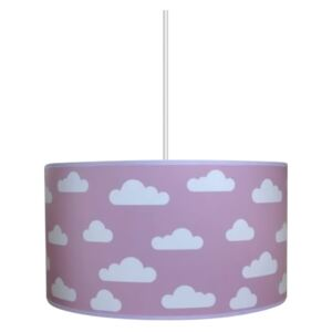 Lampa copii CLOUDS PINK 1xE27/60W/230V