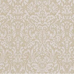 Tapet model Damask in nuante de crem, Trussardi, DZ5827Z