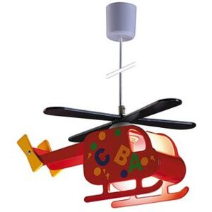 Pendul 1xE27 multicolor Helicopter Rabalux 4717