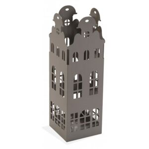 Suport gri din metal pentru umbrela 49 cm Grey Building Versa Home