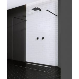 Cabina dus Walk-In Radaway Modo X Black I 120xH200 cm