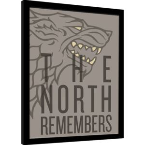 Game of Thrones - The North Remembers Afiș înrămat