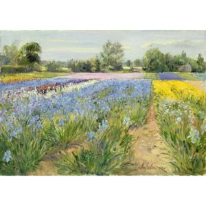Floral Chessboard, 1995 Reproducere, Timothy Easton