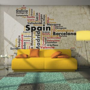 Fototapet Bimago - Colors of Spain + Adeziv gratuit 450x270 cm