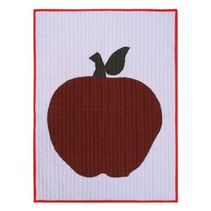 Pled multicolor din bumbac 80x110 cm Apple Quilted Ferm Living
