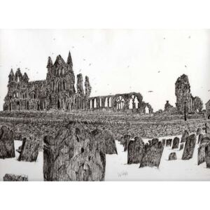 Whitby Abbey, 2007, Reproducere, Vincent Alexander Booth