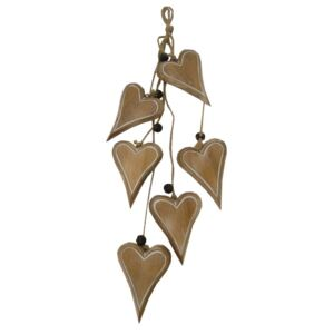 Ghirlandă Antic Line Decorative Hearts