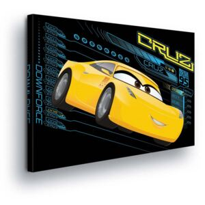 GLIX Tablou - Disney Cars Cruz Ramirez 60x40 cm