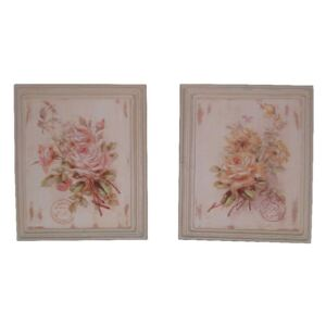 Set 2 tablouri Roses, 25,5 x 30,5 cm
