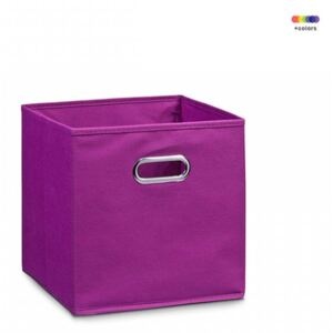 Cos mov din fleece Storage Box Purple Small Zeller