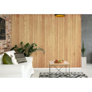 Fototapet GLIX - Wood Planks Light Colour 3 + adeziv GRATUIT Papírová tapeta - 254x184 cm