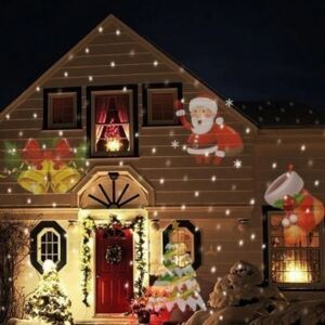 Proiector led Christmas Santa is coming