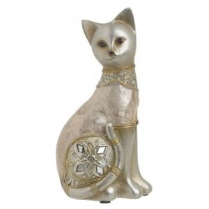 Statueta GOLDEN CAT, 17.5 cm