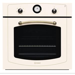 Cuptor incorporabil Indesit IFVR500OW, Electric, 60 l, Multifunctional, Grill, Clasa A, Bej