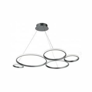 Suspensie moderna LED SMD 60W SO.POIS/SILVER