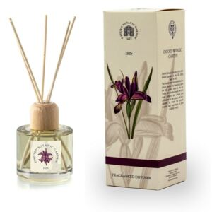 Difuzor de aromă cu parfum de iris Bahoma London Fragranced, 100 ml