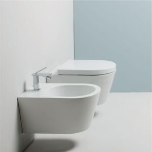 Vas WC Wall hung Wc and Bidet Valdama Il