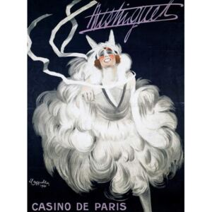 Cappiello, Leonetto - Mistinguett (1872-1956) at Casino de Paris, 1920, poster illustrated by Leonetto Cappiello , France, 20th century Reproducere