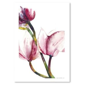 Poster Americanflat Magnolia I by Claudia Libenberg, 30 x 42 cm