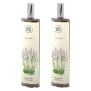 Set 2 spray-uri parfumate de interior cu aromă de lavandă Bahoma London Fragranced, 100 ml