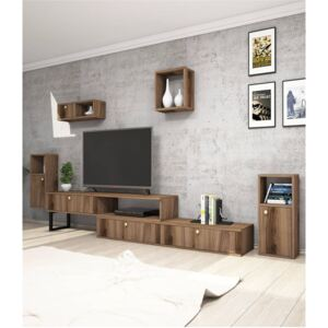 Comoda TV, New Lux Homs, nuc, 240 x 40 x 35 cm, PAL