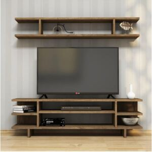 Comoda TV, Sero Homs, nuc, 120 x 35 x 30 cm, PAL 18 mm