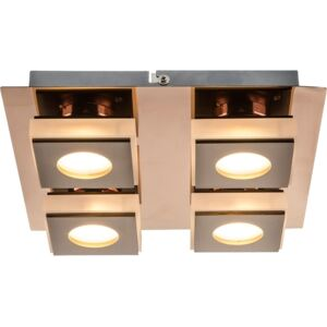 Plafoniera LED 20W bronz Cayman I Globo Lighting 49403-4