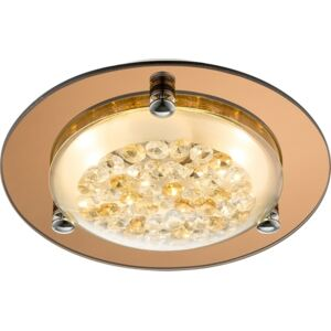 Plafoniera LED 8W cupru-cristal Froo Globo Lighting 48247