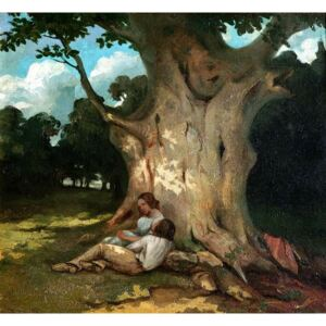 The Large Oak Reproducere, Gustave Courbet