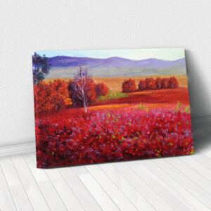 Tablou Canvas - Red Autumn