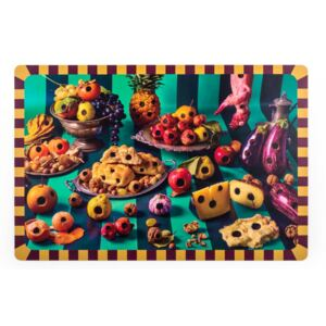 Protectie masa 45x30cm Food with holes Toiletpaper Seletti
