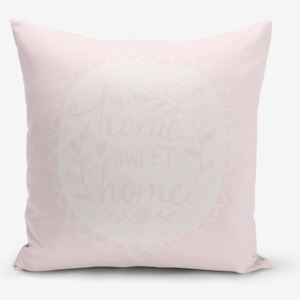 Față de pernă Minimalist Cushion Covers Home Sweet Home, 45 x 45 cm