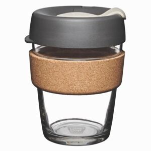Cană de voiaj cu capac KeepCup Brew Cork Edition Press, 340 ml