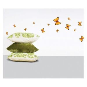 Set 18 autocolante Ambiance Yellow Butterflies Sticker