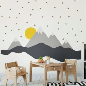 Autocolant Ambiance Giant Kid Sticker Scandinavian