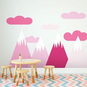 Autocolant Ambiance Scandinavian Giant Mountains Shaka