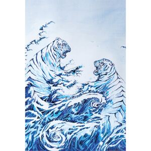 Marc Allante - The Crashing Waves Poster, (61 x 91,5 cm)