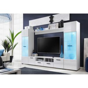 Mobilier living alb lucios SWITCH