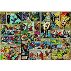 Fototapet super-eroi Marvel Comic Books