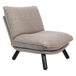 Scaun Lounge gri Lazy Sack Light Grey