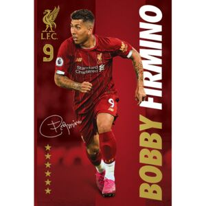 Liverpool FC - Bobby Firmino Poster, (61 x 91,5 cm)