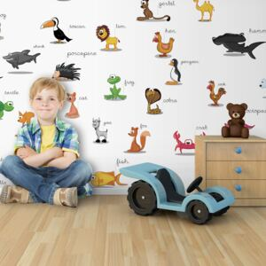 Fototapet XXL Bimago - Animals (For Children) + Adeziv gratuit 550x270 cm