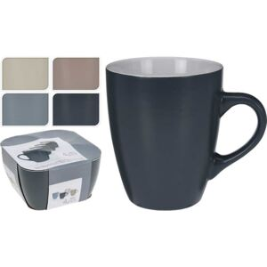 SET 4 CANI CAFEA/CEAI,CERAMICA,340 ML,MULTICOLOR