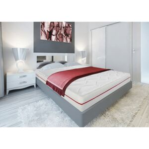 Saltea Super Ortopedica Red Line 80x200 cm 7 zone de confort, 14+2 Memory