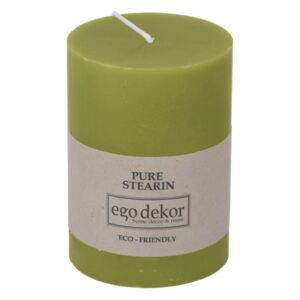 Lumânare Baltic Candles Eco, înălțime 10 cm, verde
